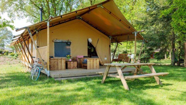 YALA_Safari_Tent_Woody_at_holidaypark_DePier_Netherlands