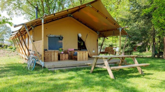 YALA_Safari_Tent_Woody_at_holidaypark_DePier_Netherlands