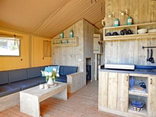 Safari Tent Woody Interior