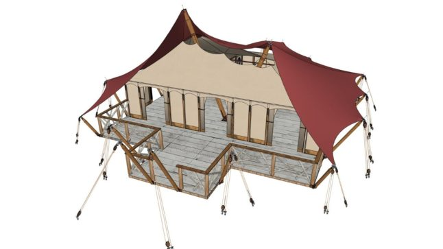 YALA_Aurora_Venue_with_innertent - Safari tents and glamping lodges