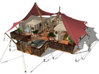 YALA_Aurora_impression_side - Safari tents and glamping lodges