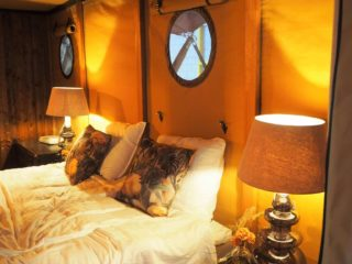 YALA_Aurora_interior_bedroom - Safari tents and glamping lodges