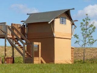 YALA_Shimmer_at_campsite_sideview - Safari tents and glamping lodges