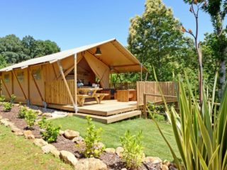 YALA_Sunshine_at_Campsite_side_view - Safari tents and glamping lodges