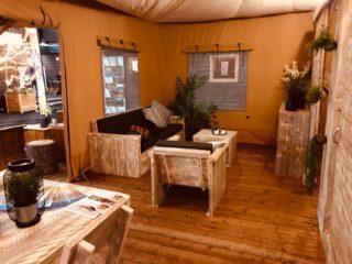 YALA_Stardust_interior_living - Safari tents and glamping lodges
