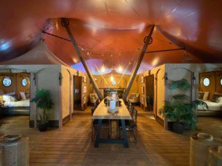 Gotland Lodge woonkamer