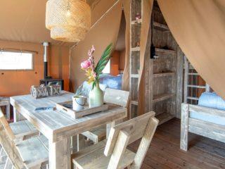 Safari Cabin woonkamer