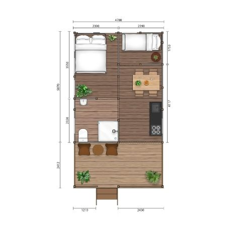 YALA Twilight 2D floorplan