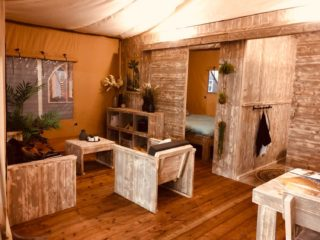 Luxus-Suite Wohnzimmer