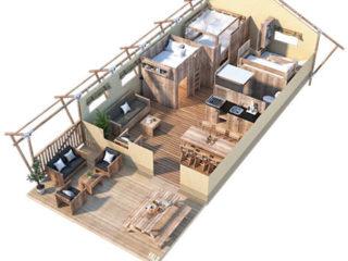 YALA_Sunshine49_3D_floorplan - Safarizelte Glamping Lodges