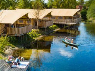 YALA_Sunshine_at_campsite_EigenWijze_Netherland_landscape - Safarizelte & Glamping Lodges