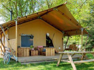 YALA_Sunshine_at_the_campsite_landscape - Safarizelte & Glamping Lodges