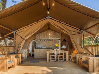 YALA_Sunshine_front_view - Safarizelte & Glamping Lodges