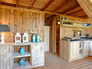 Glamping Lodge intérieur