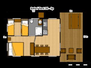 Tente Safari35