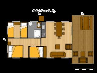 Tente Safari 45