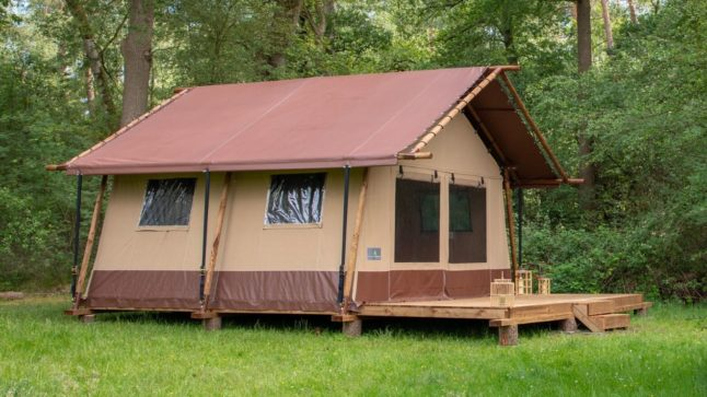 CompactLodge at the campsite