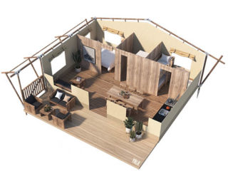 YALA_Stardust_3D_floorplan - Tentes safari e glamping lodges