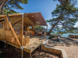 Tenda Safari Woody veranda
