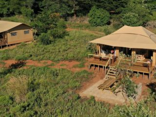 Luxury Suite at Hluhluwe Bush Camp