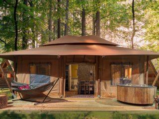 YALA_Stardust_front_view - Tende safari e glamping lodge