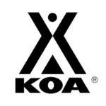 Logo KOA Kampgrounds of America - partner of YALA