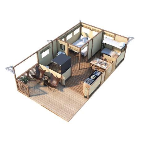 Safari šatori i kućice za glamping