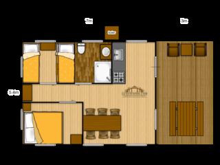 Woody 38 floorplan