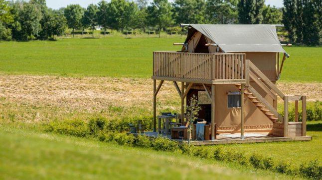 YALA_Woody_Junior_Elevated_at_campsite_exterior