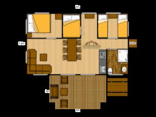 Luxury Lodge 49 floorplan