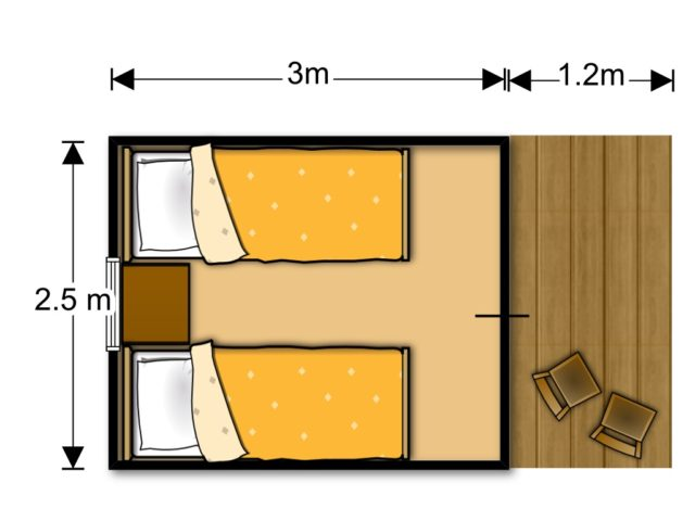 Woody Junior floorplan