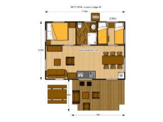 Luxury Lodge 40 floorplan